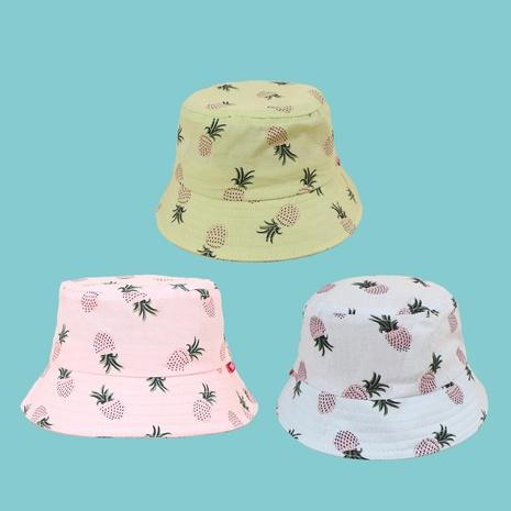 chapeau de pêcheur pour enfants d'impression d'ananas de mode NHTQ339144's discount tags