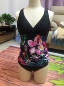 impression de mode bikini fendu de grande taille NHHL339256
