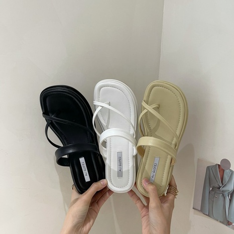 nouvelles tongs coréennes à fond de bagatelle NHHU339406's discount tags