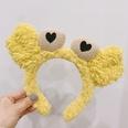NHAMD1569409-Plush-Crab-Headband-Yellow