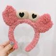 NHAMD1569410-Plush-Crab-Headband-Pink