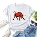 Bullish print casual shortsleeved tshirt NHZN339530