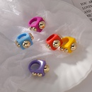 fashion candy color acrylic ring  NHMS339616