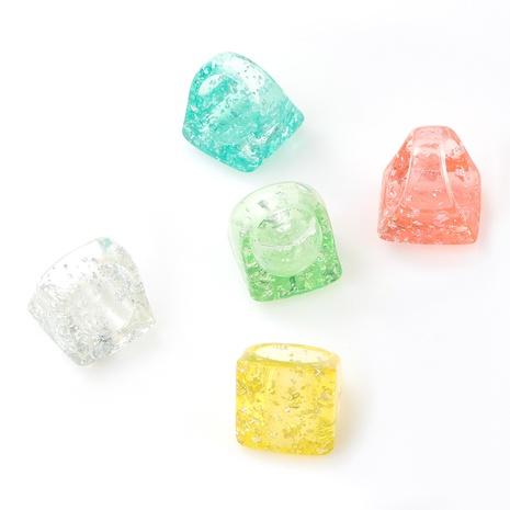 Anillo de resina cuadrado de moda NHJE339683's discount tags