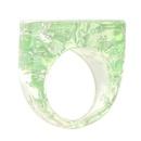 simple heartshaped resin ring NHJE339694