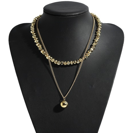 Fashion acrylic alloy thick chain necklace  NHJQ339708's discount tags