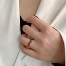 fashion paint bow knot ring NHYQ339780
