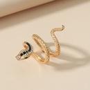 retro snakeshaped alloy ring NHKQ339852