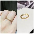 Korean inlaid zircon star ring  NHCG339900