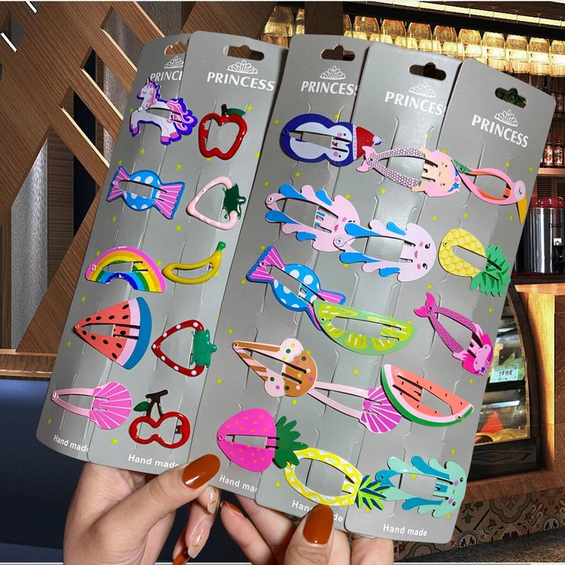 fashion bowknot childrens duckbill clip set NHYI339924