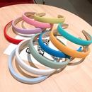 simple solid color widebrimmed headband  NHSA339978