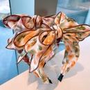 Korean tiedye big bow wide headband NHHD340029