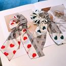 Korean fashion bowknot hair scrunchies  NHHD340039