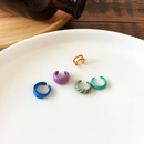 simple candy color ear clip NHBY340050