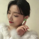 Fashion daisy flower alloy earrings NHBY340053