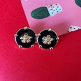 NHOM1573643-Flower-Can-Silver-Needle-Stud-Earrings-2CM