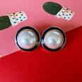 NHOM1573648-glaze-pearl-silver-needle-stud-earrings-2.2CM