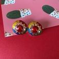 NHOM1573650-sun-drip-glaze-silver-pin-earrings-2CM