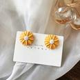 NHBY1574214-Pair-of-yellow-stud-earrings