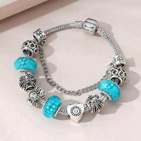 Fashion rhinestone geometric bracelet NHPS340073's discount tags
