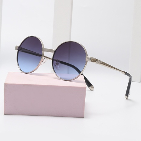 Fashion style new round frame sunglasses  NHLMO340349's discount tags