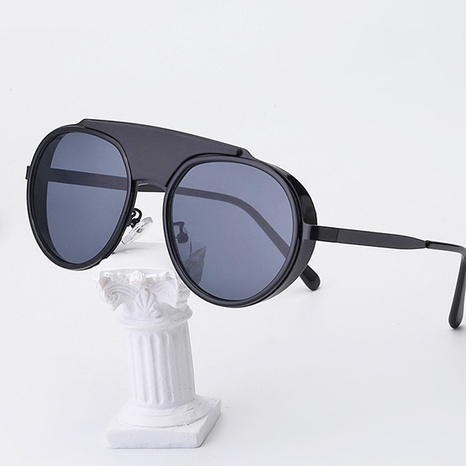 new fashion style korea round frame sunglasses NHLMO340350's discount tags