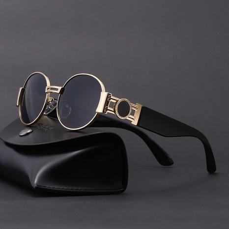 new fashion style korea round frame sunglasses NHLMO340353's discount tags