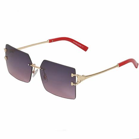 new fashion style korea rimless sunglasses NHLMO340354's discount tags
