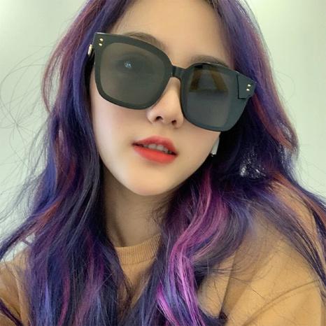 new fashion style korea  frame rice sunglasses NHLMO340357's discount tags