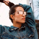 new fashion style korea  box retro sunglasses  NHLMO340358