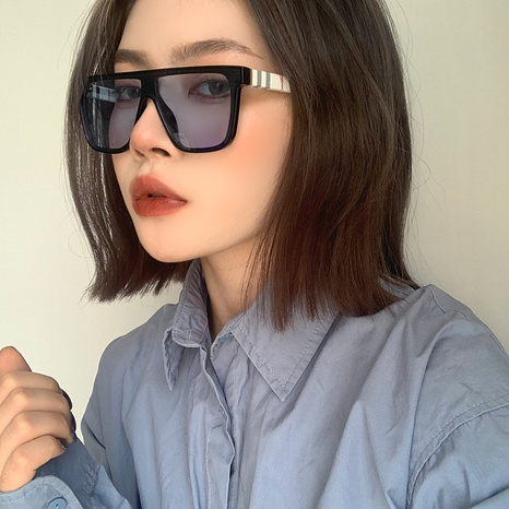 New style fashion style one-piece lens sunglasses NHLMO340361's discount tags