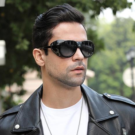 new fashion style korea leather polarized sunglasses NHLMO340381's discount tags