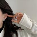 retro microinlaid flash diamonds saturn earrings wholesale NHYQ340404