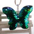 NHDI1582848-Green-4-butterfly-Silver-chain-single-loop-buckl