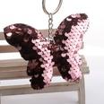 NHDI1582849-Pink-3-butterfly-Silver-chain-single-loop-buckle