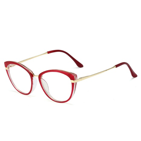 Fashion anti-blue light spring leg anti-uv metal glasses wholesale NHFY340211's discount tags
