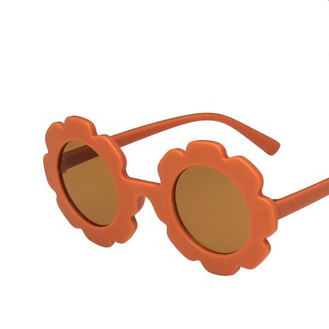 cartoon sunflower shape children's sunglasses wholesale NHKD340218's discount tags