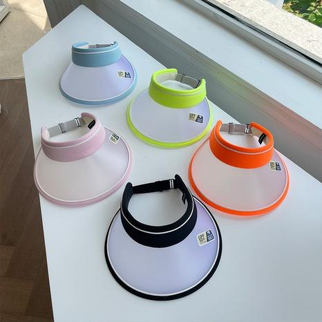 chapeau de soleil pour enfants en plein air couleur contraste de mode NHCM340484's discount tags