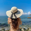 Fashion dome raffia big eaves sunscreen fisherman hat NHCM340491