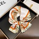 fashion printing mulberry silk narrow silk scarf wholesale NHCJ340597