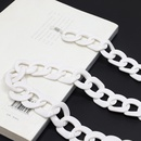 fashion white string environmental protection antiskid antilost glasses chain  NHBC340646