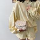 new fashion western style lingge shoulder messenger square bag NHJZ340834