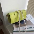 korean fashion new solid color oneshoulder square bag NHJZ340852