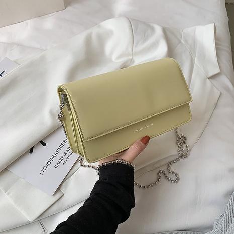 nouveau petit sac carré de chaîne à une épaule de style occidental de mode NHJZ340864's discount tags