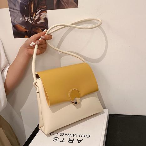 nouveau petit sac carré de couleur simple à la mode à la mode NHJZ340888's discount tags
