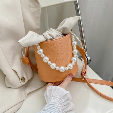 koreanische Mode New Style Perlen einfarbige Beuteltasche NHJZ340930's discount tags