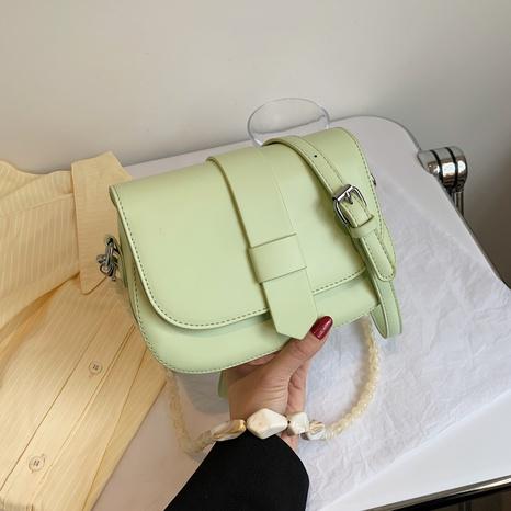 New Fashion Western Style One-Shoulder einfarbige Tasche NHJZ340931's discount tags