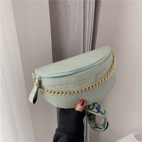 nouveau petit sac de poitrine de messager d'épaule en relief de mode coréenne NHJZ340944's discount tags