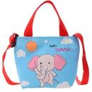 Fashion childrens shoulder messenger portable canvas bag wholesale NHAV340971