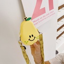 Silicone korean cute fruits mini new cute diagonal bag NHAV340985